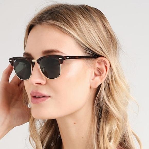 250d942243 NEW Ray-Ban Clubmaster mock tortoise sunglasses. M 5c492efba31c33c766713699